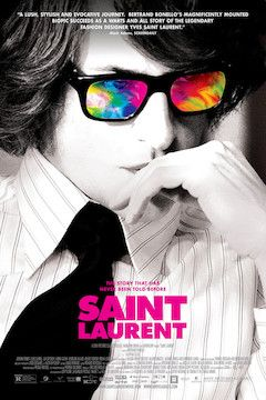 Saint Laurent movie poster.