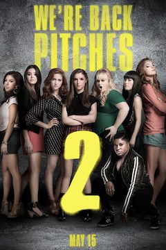 Pitch Perfect 2 movie poster.