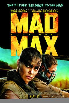 Mad Max: Fury Road movie poster.