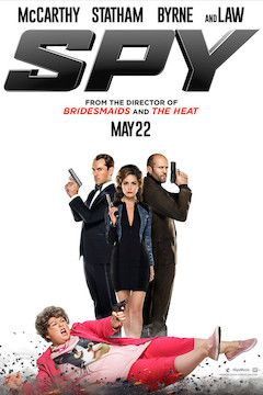 Spy movie poster.