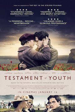 Testament of Youth movie poster.