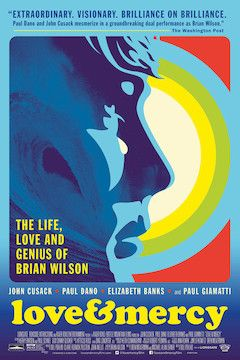 Love & Mercy movie poster.