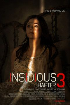 Insidious: Chapter 3 movie poster.