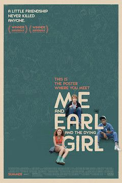 Me and Earl and the Dying Girl movie poster.