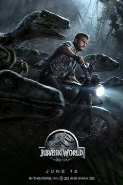 Jurassic World movie poster.