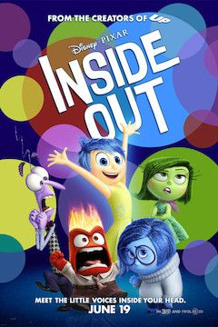 Inside Out movie poster.
