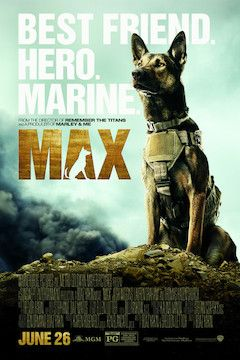 Max movie poster.
