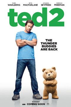 Poster for the movie Ted 2