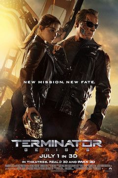Poster for the movie Terminator: Genisys