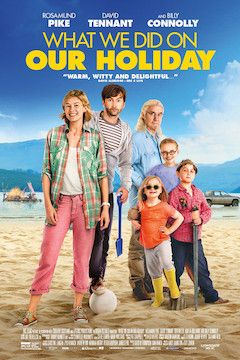 Poster for the movie What We Did on Our Holiday