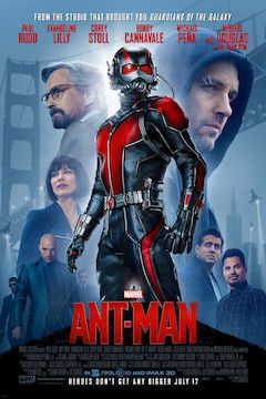 Ant-Man movie poster.