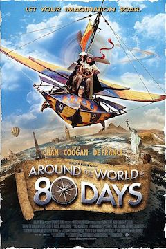 Poster for the movie Around the World in 80 Days