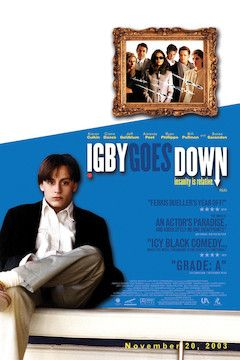 Igby Goes Down movie poster.