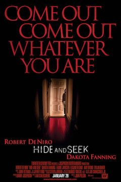 Poster for the movie Hide and Seek