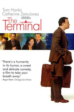 The Terminal movie poster.
