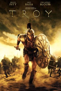 Poster for the movie Troy