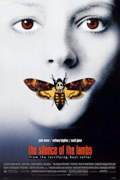 The Silence of the Lambs movie poster.