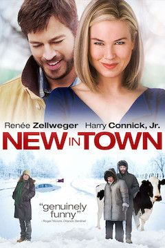 New in Town movie poster.