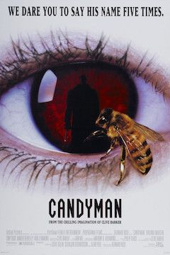 Candyman movie poster.