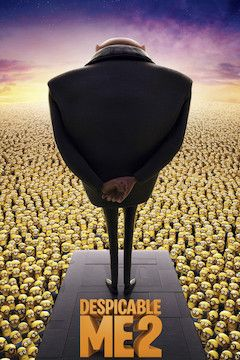 Despicable Me 2 movie poster.