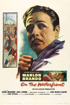 On the Waterfront movie poster.
