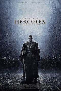 The Legend of Hercules movie poster.