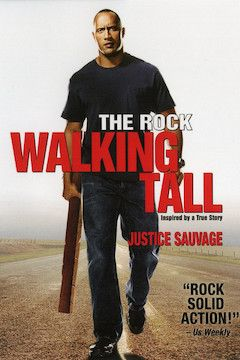 Walking Tall movie poster.