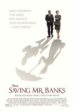 Saving Mr. Banks movie poster.