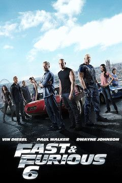 Fast & Furious 6 movie poster.
