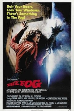 The Fog movie poster.
