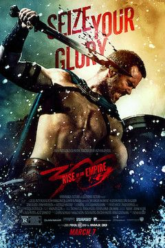 300: Rise of an Empire movie poster.