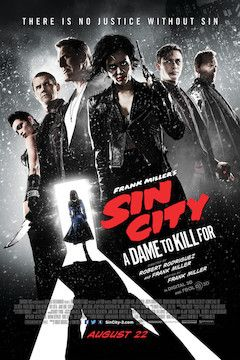 Sin City: A Dame to Kill For movie poster.