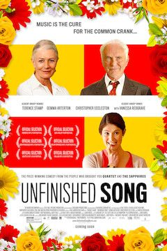Unfinished Song movie poster.