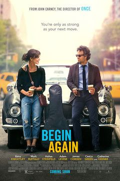 Begin Again movie poster.