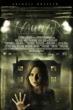 Haunter movie poster.