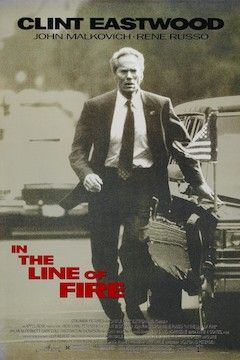In the Line of Fire movie poster.
