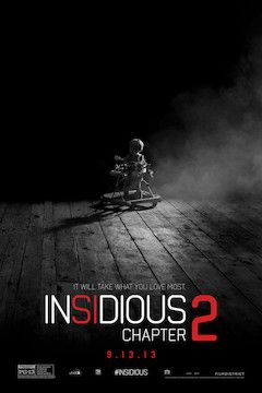 Insidious: Chapter 2 movie poster.