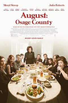 Poster for the movie August: Osage County