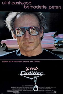 Pink Cadillac movie poster.