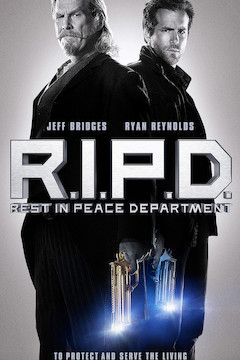Poster for the movie R.I.P.D.