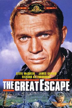 The Great Escape movie poster.