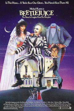 Poster for the movie Beetlejuice