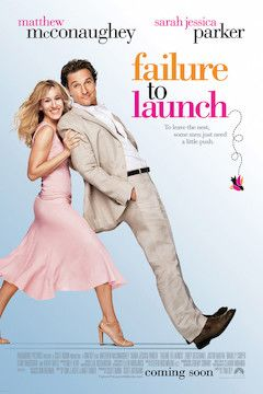 Failure to Launch movie poster.
