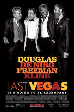 Last Vegas movie poster.