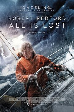 All Is Lost movie poster.