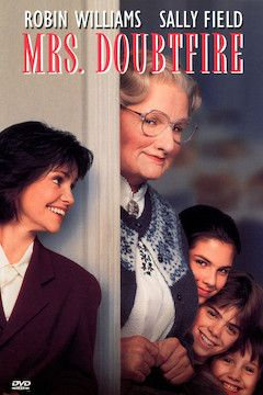 Mrs. Doubtfire movie poster.