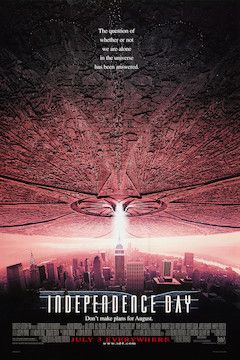Poster for the movie Independence Day