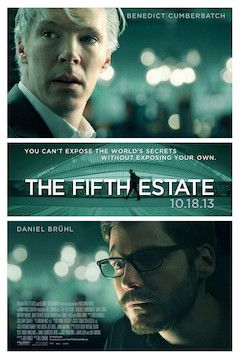 The Fifth Estate movie poster.