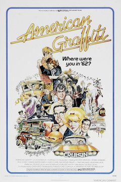 Poster for the movie American Graffiti