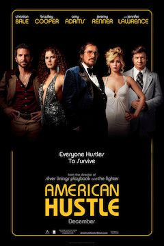 American Hustle movie poster.